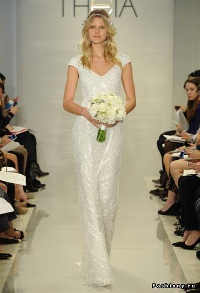 Свадебное платье морской богини