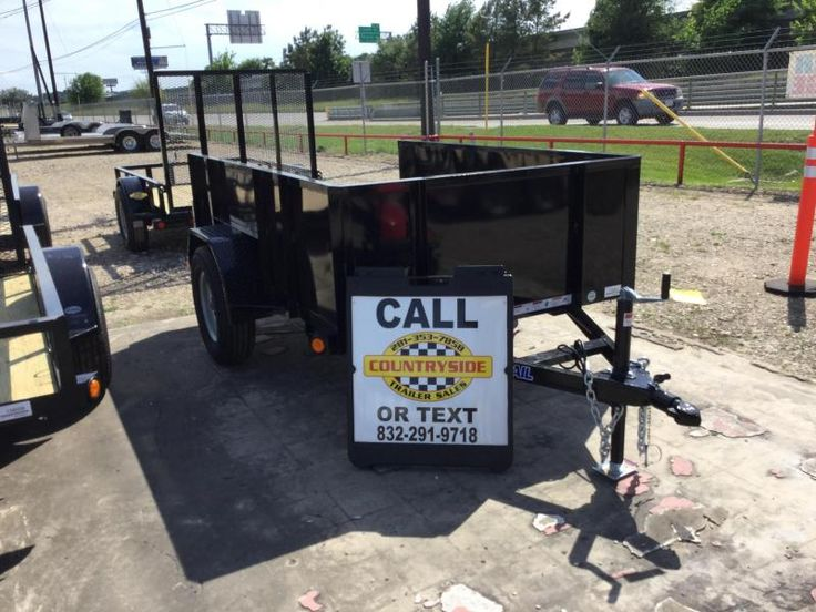 Pin on Open Utility Trailers