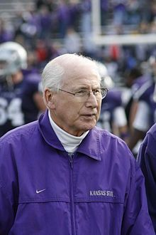 Bill Snyder - Wikipedia, the free encyclopedia - head football coach at Kansas State University.