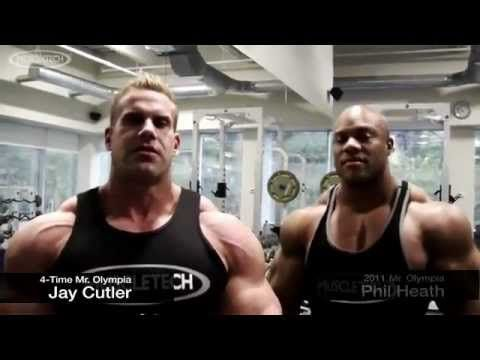 Jay Cutler and Phil Heath; Chest Workout
