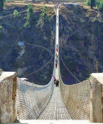 Kushma-Gyadi Suspension Bridge, Nepal ♡❀♡ WHAT A WONDERFUL WORLD ♡❀♡ - Google+