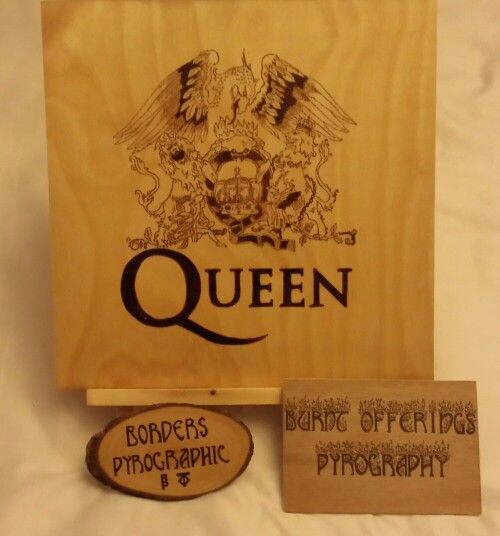 #pyrography #Queen #Music  Burned by Tracey Glover