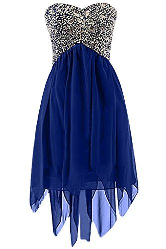 Sunvary Rhinestone High Low Short Homecoming Prom Dresses Junior Sweety 16 Pageant Bridesmaid Girls Bat Mitzvah Dress Size 2- Royal Blue Sunvary http://www.amazon.com/dp/B00D1OXVZ8/ref=cm_sw_r_pi_dp_vwhGwb12GVTEB