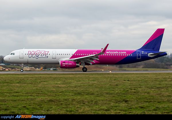 First A321 for Wizz Air