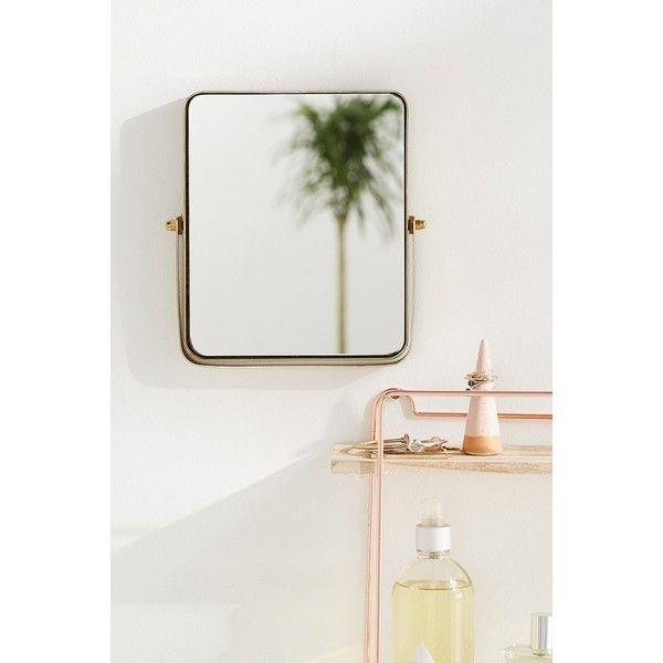 Elise Convertible Mirror (39 CAD) ❤ liked on Polyvore featuring home, home decor, mirrors, rectangle mirror, hinged mirror, adjustable mirror, adjustable stand and urban outfitters