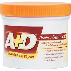 A&D Ointment Tub - MUA says this product is great for chapped lips and wrinkles!