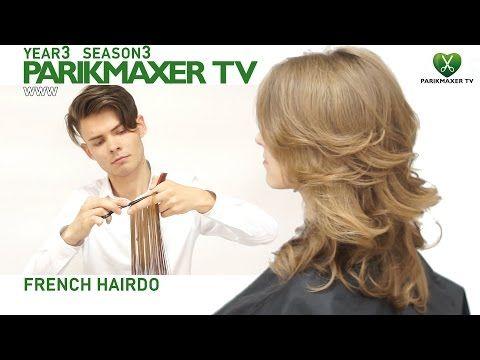How to create a great evening hair style. Anna Godovan parikmaxer tv english version - YouTube