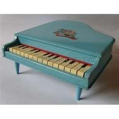 Speelgoed piano uit de jaren '60.