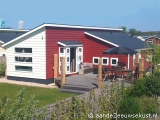Chalet de Strandgaper ligt bij Renesse aan de Zeeuwse kust  www.Strandgaper.aandeZeeuwsekust.nl