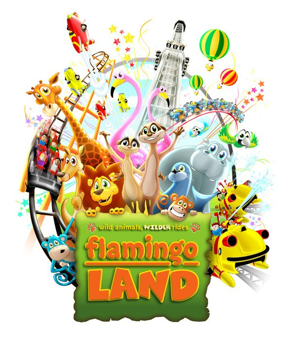 go to flamingo land and have lots of fun.