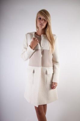 Jas Fairly ecru | Fashionistic Webshop Dameskleding