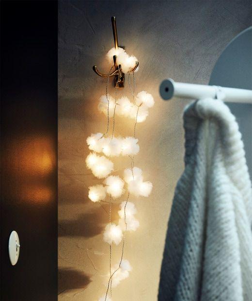 Ikea Livsår Guirlande Lumineuse à Led Avec 24 Ampoules