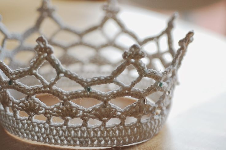 Royal crochet crown pattern