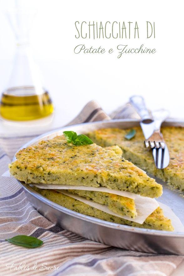 La schiacciata al forno di patate e zucchine sarà un secondo piatto di verdura leggero e veloce da fare, solo pochi passaggi ed è in tavola.