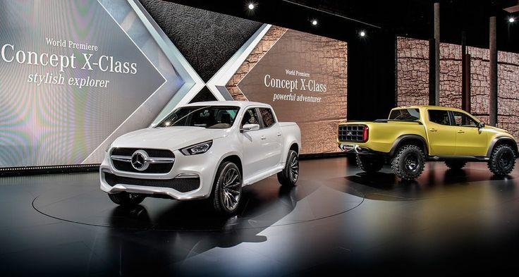 Mercedes i jego wizja pickupu premium https://www.moj-samochod.pl/Nowosci-motoryzacyjne/Mercedes-i-jego-przecietna-wizja-samochodu-typu-Pickup #Mercedes #XClass #MercedesXClass #pickup #pickuptruck