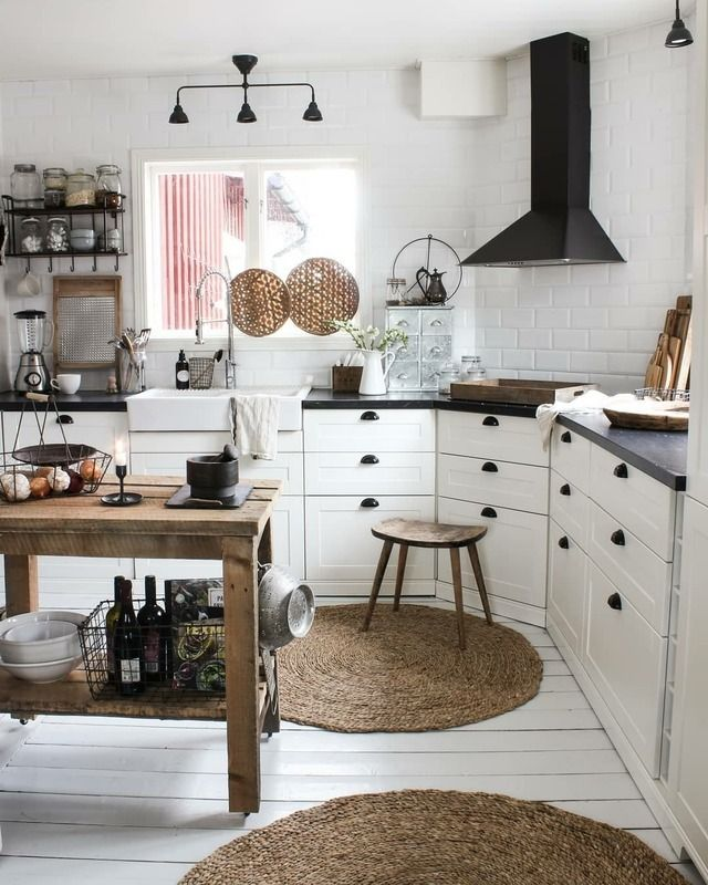 Kitchen Inspiration Nordic Rustic Bohemian The Perfect Scandinavian Style Home Interior Design Kitchen Home Decor Tips Home Decor Shops