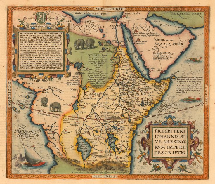 Evolution of the Map of Africa, 1550s-1860s Retronaut