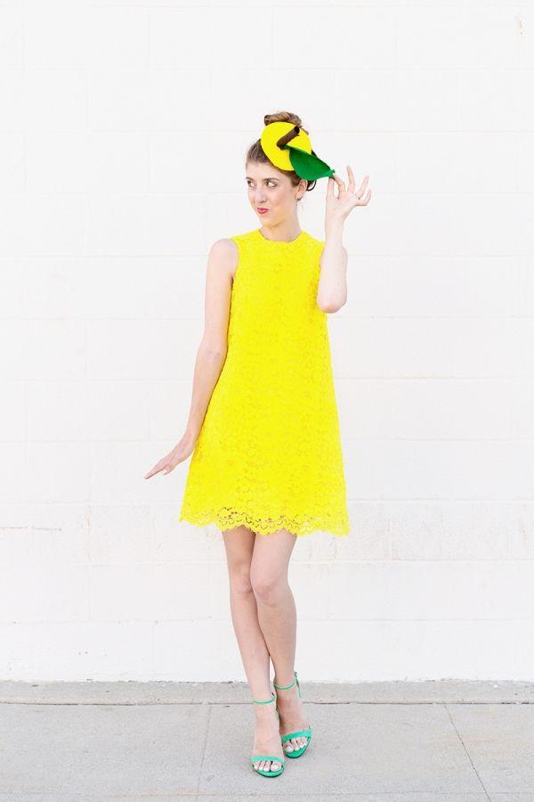 Lemon Costume  sc 1 st  Pinterest & 707 best This Is Halloween images on Pinterest | Halloween ideas ...