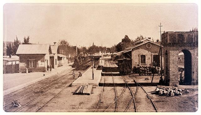 la vieja Estacion del tren de Quilpue by santiagonostalgico, via Flickr
