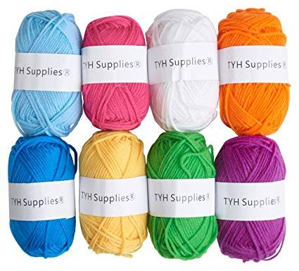 Colour Change Gradient Yarn Gradient Yarn Colour changing yarn Glitter yarn cake -READY TO SHIP- Christmas Carol with glitter thread
