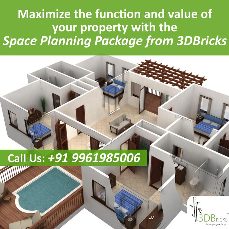 Affordable Interior Design Space Planning Package -   Starts with questions for the basic layout and space planning, we have a set of 30 questions which guides us through the process of understanding your requirements in a better way. Learn more about our space planning package at, http://www.3dbricks.com/services-space.php  #floorplan #Home #interiordesign #DreamHome #newhome #realestate #homedesign #firsthome