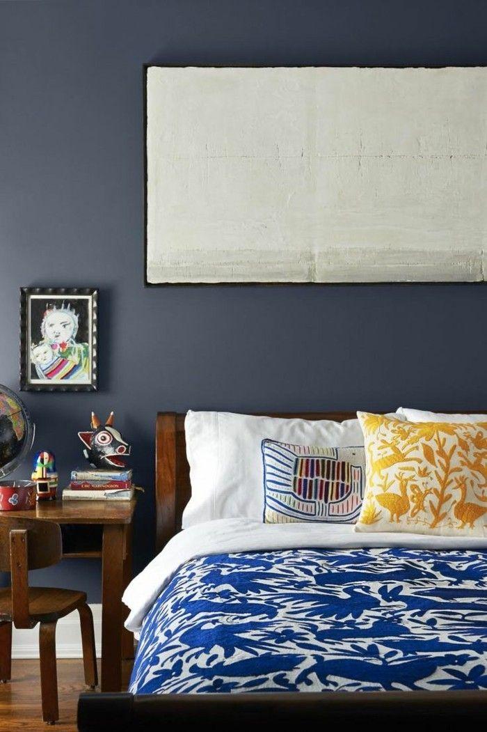 aktuelle blaut ne und farbmuster in der raumgestaltung 2017 wandfarben palette raumgestaltung. Black Bedroom Furniture Sets. Home Design Ideas