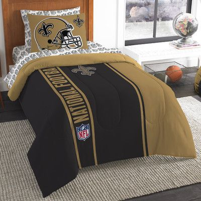 Northwest Co. NFL Saints Comforter Set Size: Twin