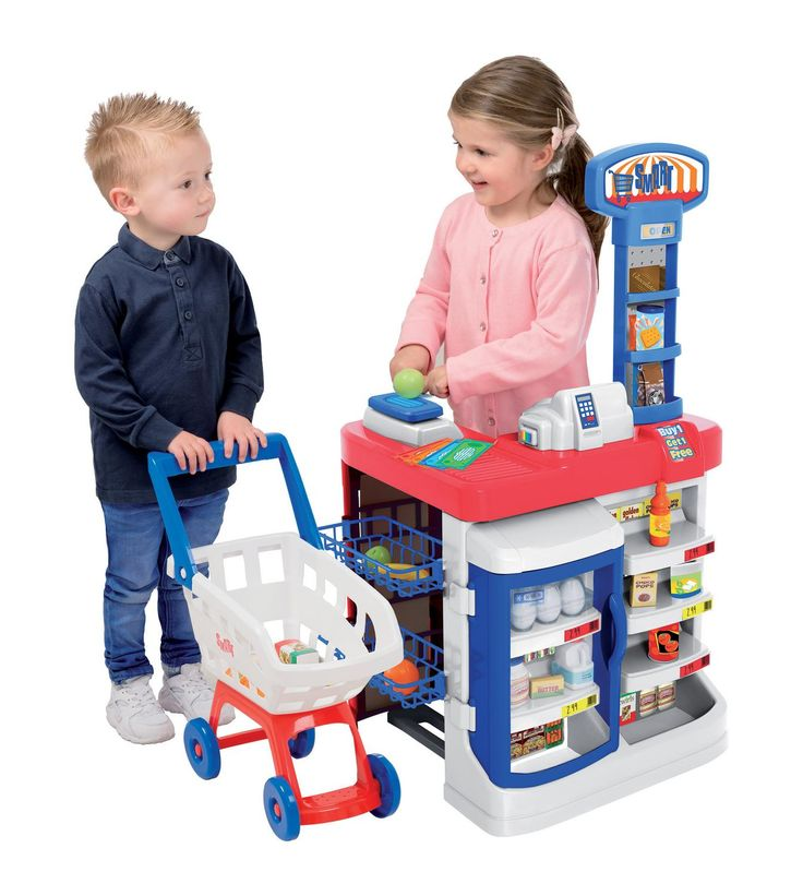 Image for Supermarket & Trolley Playset from studio