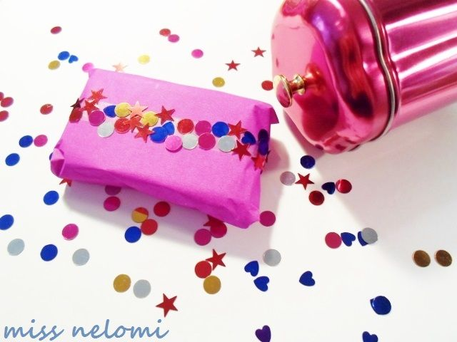 miss nelomi: DIY Confetti Tape