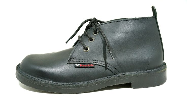 R 839 (Black) Freestyle Hunter Genuine Leather Lace-Up Boot Handcrafted in South Africa Code: 118205