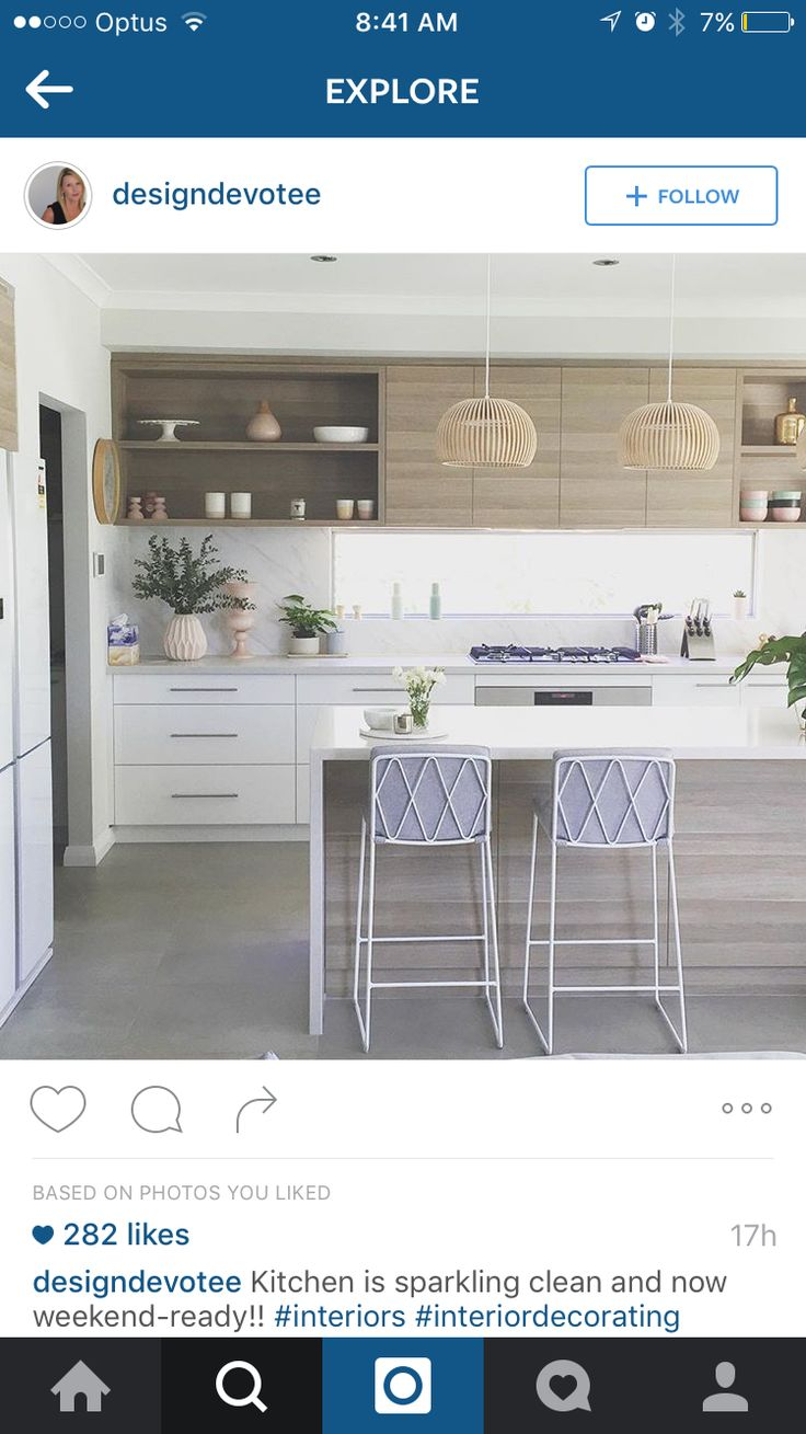 DREAM KITCHEN - timber slightly a bit darker, but I really want the marble to be a huge feature of the space. Still want the timber on the front of the island bench. Will look to bright with white tiles. Too clinical.
