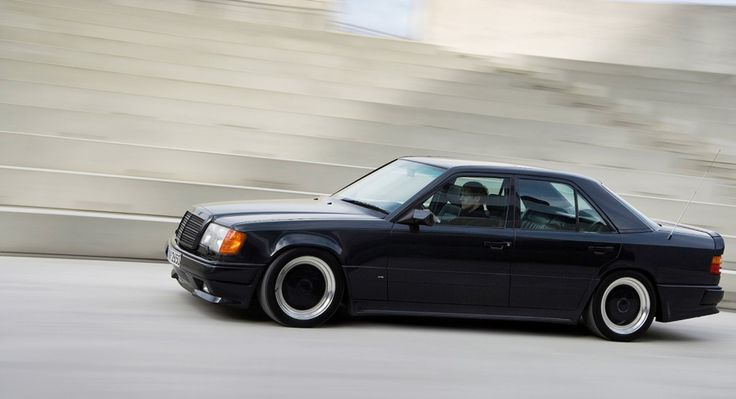 Turn back the clock and the wild snarl returns. Enter the Lamborghini-rivalling 1986 Mercedes 300E AMG Hammer, a car which started life as a wafting cocoon.