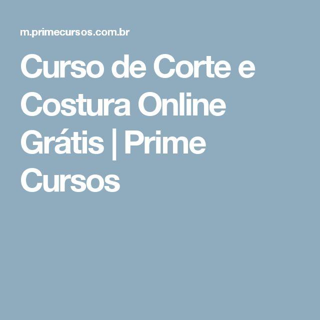 Curso de Corte e Costura Online Grátis   Prime Cursos