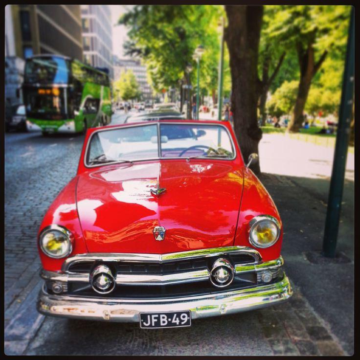 A summer car.