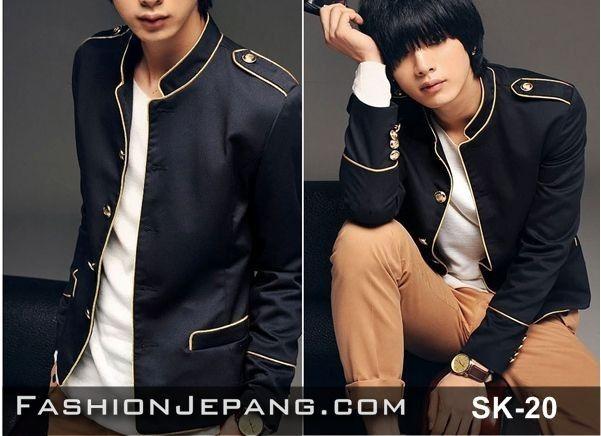 Jual Jaket, Jaket korea, fashion cowok, jogja Blazer Jaket Korea SK-20