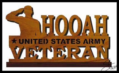 United States Army Veteran Scroll Saw Pattern. | Scrollsaw