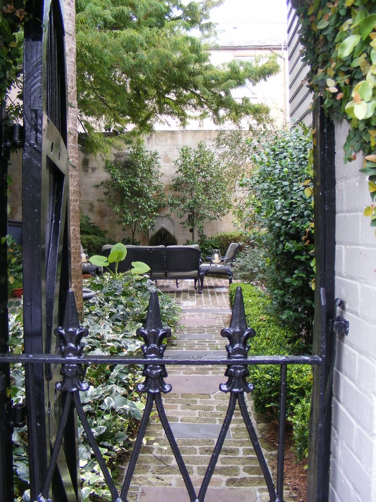 Courtyards are great for small space, when you need more living and entertaining area, and for water-wise landscaping.