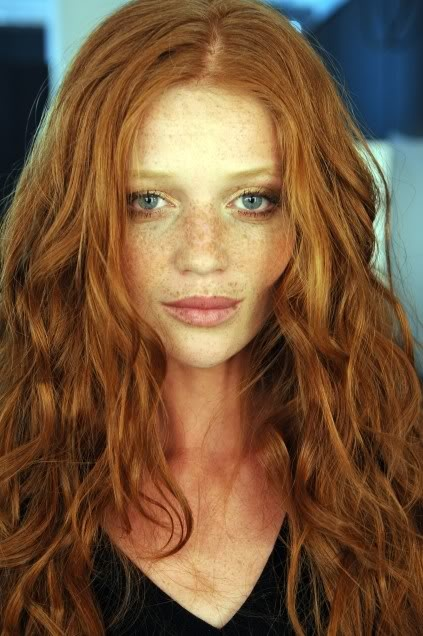 Cintia Dicker- Freckles are fine, too. Love yourself just the way you are. she is a masterpiece.
