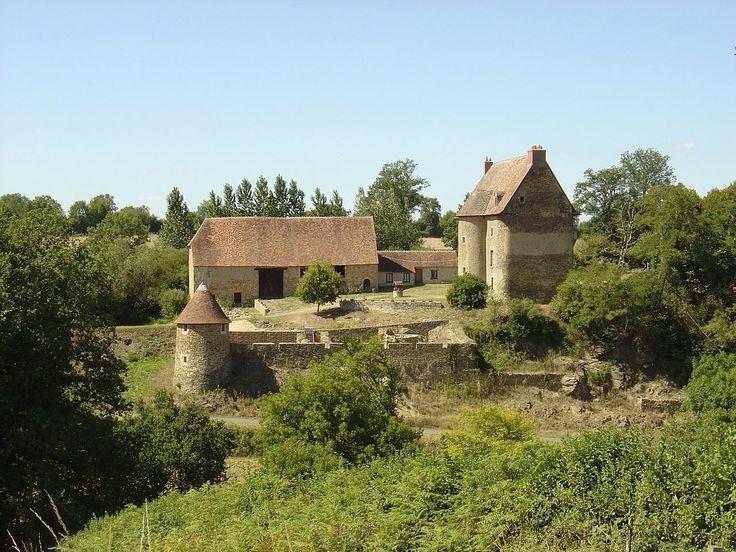 sazeray chateau de mont