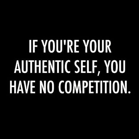 Absolutely and my haters hate that cause they try so hard to portray me as being fake amount other things but when everyone they spoke abt me to gets to know me sees me for me and realizes my haters are full of crap lol ur not winning I am!!!!