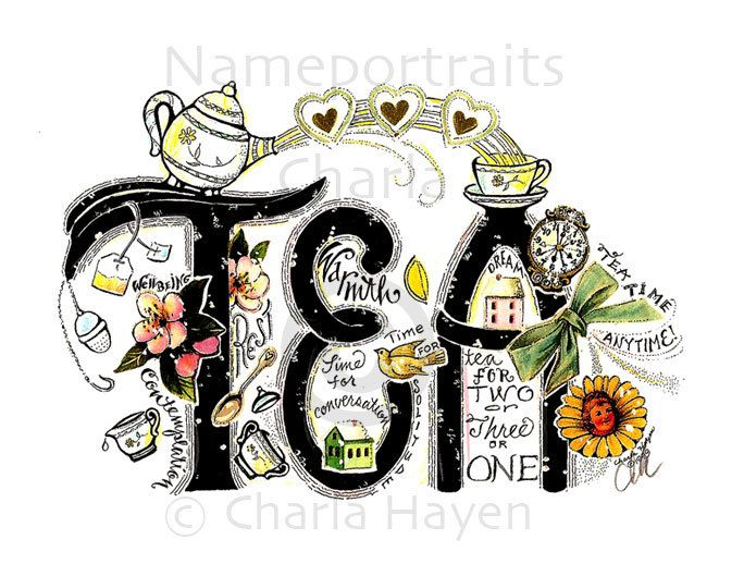 Look closely at the picture and discover the many wonderful aspects of tea.