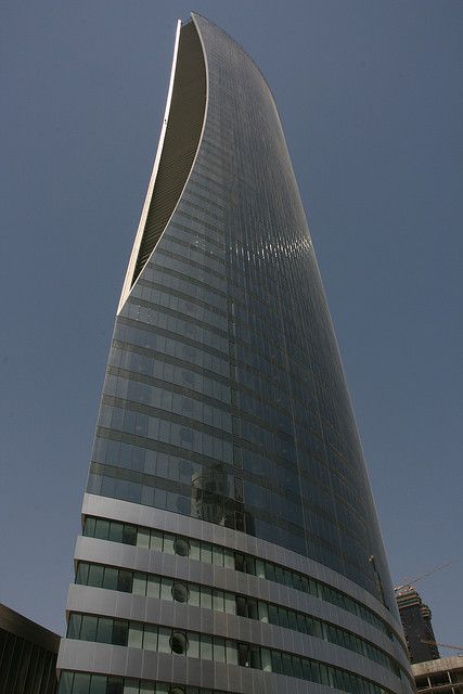 Qatar Navigation tower, Doha, Qatar | Catar / Qatar / Катар / قطر | Pinterest | Towers, Doha and ...