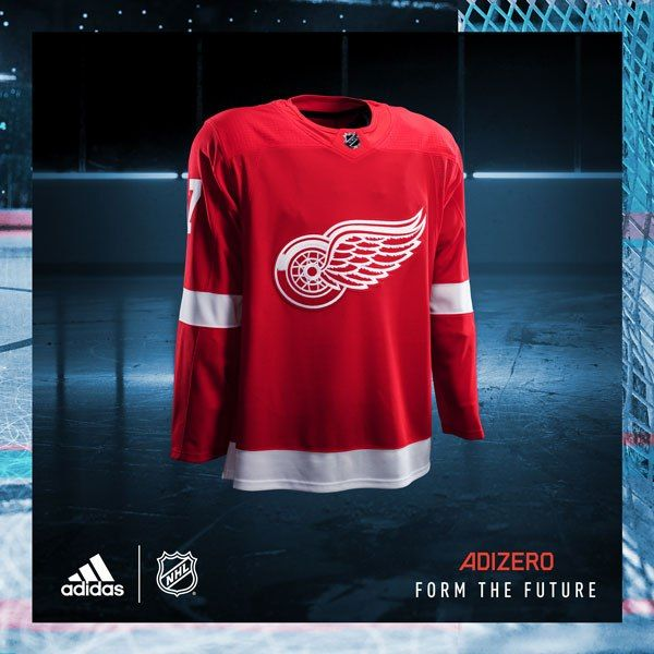 NHL and adidas Unveil New Detroit Red Wings Uniforms for 2017-18 Season. The National Hockey League and adidas today unveiled the new ADIZERO