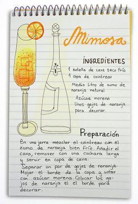 Receta cóctel Mimosa - Descubre Catabox - Packs Gin Tonic y Vino - El regalo perfecto para los amantes de las cosas buenas y bonitas