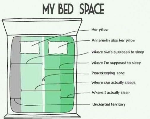 gonna be me: Life, Beds Cartography, Beds Spaces, My Husband, Truths, So True, Funny Stuff, Humor, True Stories