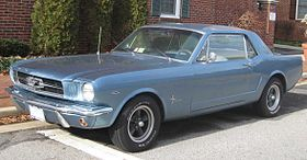 Thefirst-generation Ford Mustangwas manufactured byFordfrom March 1964 until 1973. The introduction of the Mustang created a new class of automobile known as thepony car. The Mustang's styling, with its long hood and short deck, proved wildly popular and inspired a host of imitators.