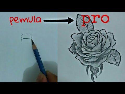 31 Gambar Lukisan Bunga Flamboyan How To Draw Flower For Began Mudah Tutorial Menggambar Bunga Untuk Pemula Download Lukisan Bunga Tato Geometris Gambar