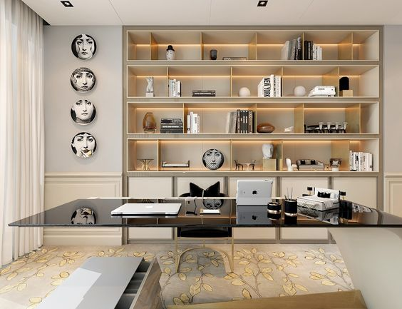 Crazy home office designs for your future home || Feel the wilderness straight from your house and maintain the newest interior design trends || #homedecor #homedecoration #decoration || Check it out: http://homeinspirationideas.net/category/room-inspiration-ideas/home-office