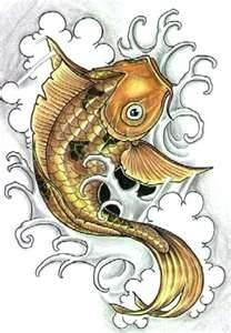 100 Desenhos De Carpas » Koi Carp Tattoo