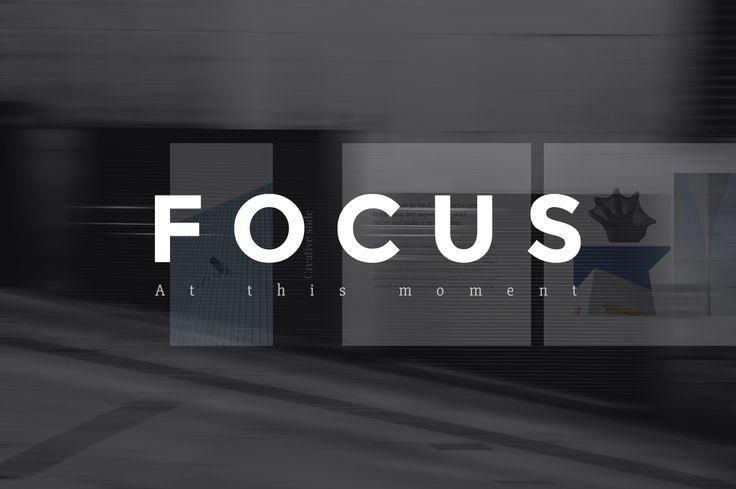 Focus Keynote Presentation + Bonus by Entersge on @creativemarket
